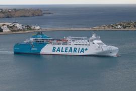 Brite von Baleària-Fähre über Bord gegangen