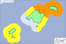 Windkeule bringt kurzzeitigen Wetterumschwung