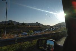 Unfall löst Verkehrschaos auf Andratx-Autobahn aus