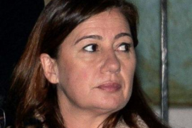 Wurde zufällig zur Unfallzeugin: Ministerpräsidentin Francina Armengol (PSOE).