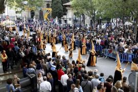 Semana-Santa-Prozessionen in Palma mit 4500 Teilnehmern