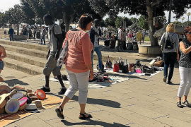 Aggressiver Playa-de-Palma-Straßenhändler verurteilt
