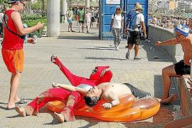 Privatfirma soll an Playa de Palma Bußgelder eintreiben