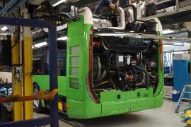 Erste Naturgas-Busse für Palma so gut wie fertig