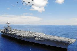 US-Flugzeugträger Lincoln erreicht Bucht von Palma
