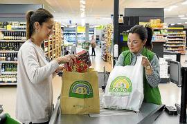 Mercadona hat Plastiktaschen abgeschafft