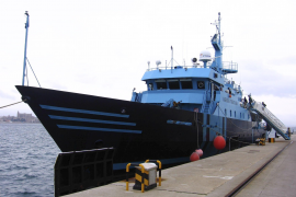 Anti-Drogenhändler-Schiff nach Mallorca verlegt