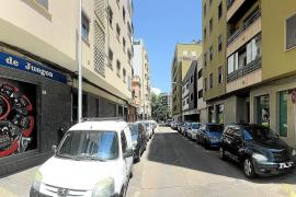 Die einstige Calle de Stresemann, heute Carrer d'Emili Darder, grenzte an die Plaça Madrid im westlichen Stadtzentrum.