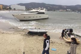 Unwetter reißt bis zu vier Yachten auf Mallorca los