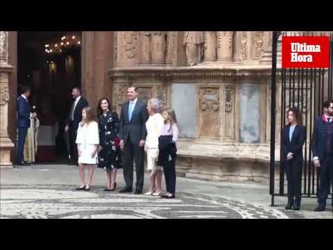 Königsfamilie bleibt Ostergottesdienst auf Mallorca treu