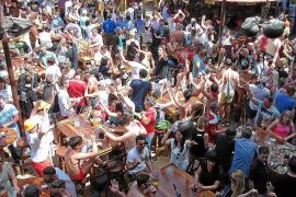 Im Sommer ist der Bierkönig immer prall gefüllt.