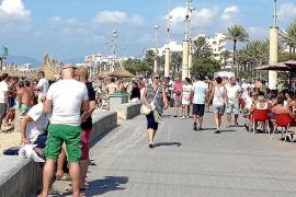 Weniger Deutsche kommen im Mai nach Mallorca