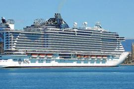 MSC Seaview erstmalig in Palma eingelaufen