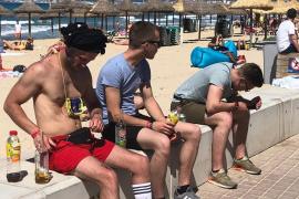 Playa-de-Palma-Gäste ignorieren neue Alkoholregeln