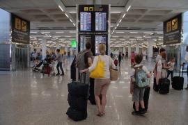 Reichlich Flugverkehr zum 1. Mai auf Mallorca