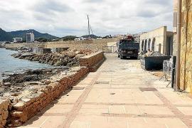 Uferweg an der Cala Gat wird nach Unwetter saniert