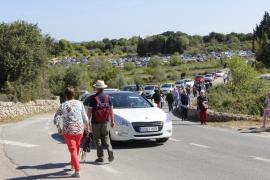 Blumenschau sorgt für Verkehrskollaps vor Costitx