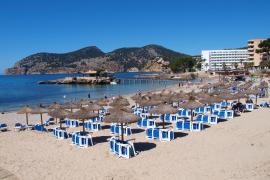 Strand von Camp de Mar dieses Jahr unerwartet proper