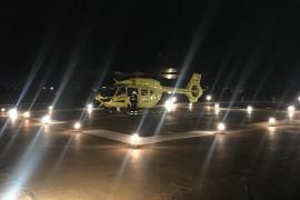 Drei Personen in Palma durch brennende Cocktails verletzt