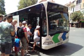 Verletzte nach Vollbremsung von Bus in Can Pastilla
