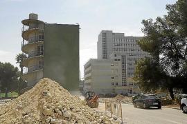 Abriss des Klinikums Son Dureta hat begonnen
