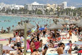 Die Playa de Palma ist so aktiv wie halb Menorca