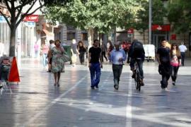 Gefahr für Fußgänger: Neue Radwege auf Plaza España