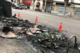 Brandstifter in Palma geht immer noch um