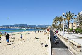 Blick auf die Playa Can pere Antoni.