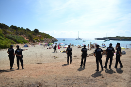 Streit um freien Zugang zum Naturstrand Cala Varques