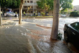 Rohrbruch verursacht Wasser- Ausfall in Palma-Vierteln