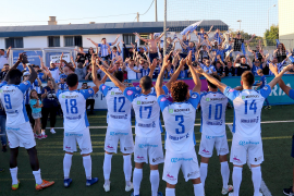 400 Fans können Atlético zum Auswärtssieg jubeln
