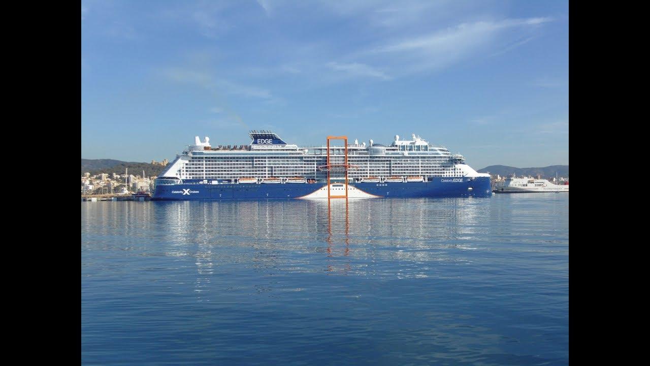 """Das """"Kreuzfahrtschiff der Zukunft"""" zu Gast in Palma"""