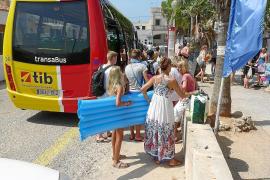 Shuttle-Busse nach Formentor und Es Trenc fahren häufiger