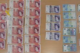 Touristen brachten falsche Pfundnoten in Umlauf
