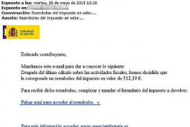 Betrügerische Fiskus-Mails auf Mallorca unterwegs