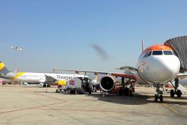 Am Airport in Palma de Mallorca herrscht stets Bewegung in alle Richtungen.