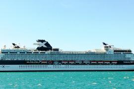 Kreuzfahrtschiff mit Retro-Chic besuchte Palma