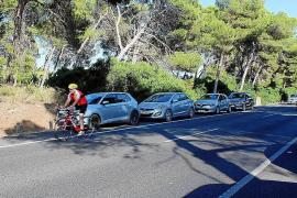 Playa de Muro bekommt Schutzzaun für Radfahrer