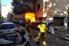 Erneut Pyromane in Palma de Mallorca verhaftet