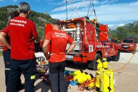 Feuerwehr befreit Baby aus Auto an Playa de Palma