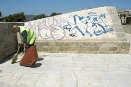 Denkmalschützer geißeln Graffiti-Inflation in Palma