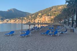 Hoteliers beklagen schlechten Strandservice in Port Sóller