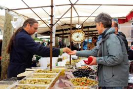 Gefragt bei den Kunden sind Mallorca-Produkte.