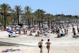 Strandsaison in Arenal startet ohne Schirme und Liegen
