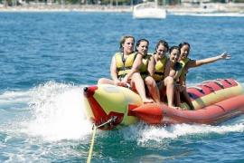 Mallorca-Urlauber empört: kein Bananenboot an Playa