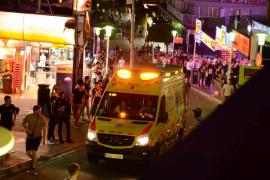 Polizisten nehmen diebische Straßenhändler in Magaluf fest