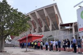 Fans wollen Real Mallorca zum Sieg jubeln