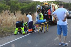 Mutter und Tochter bei Crash nahe Port d'Andratx verletzt