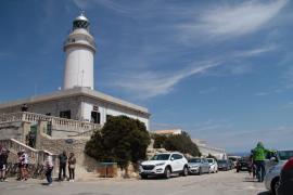 Straße zum Leuchtturm von Formentor wieder gesperrt